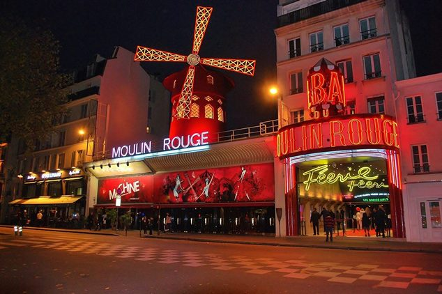 Moulin Rouge Paris Cabaret