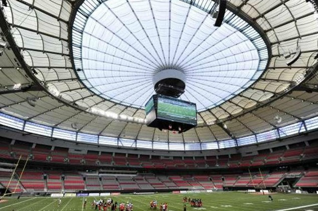 BC Place Roof
